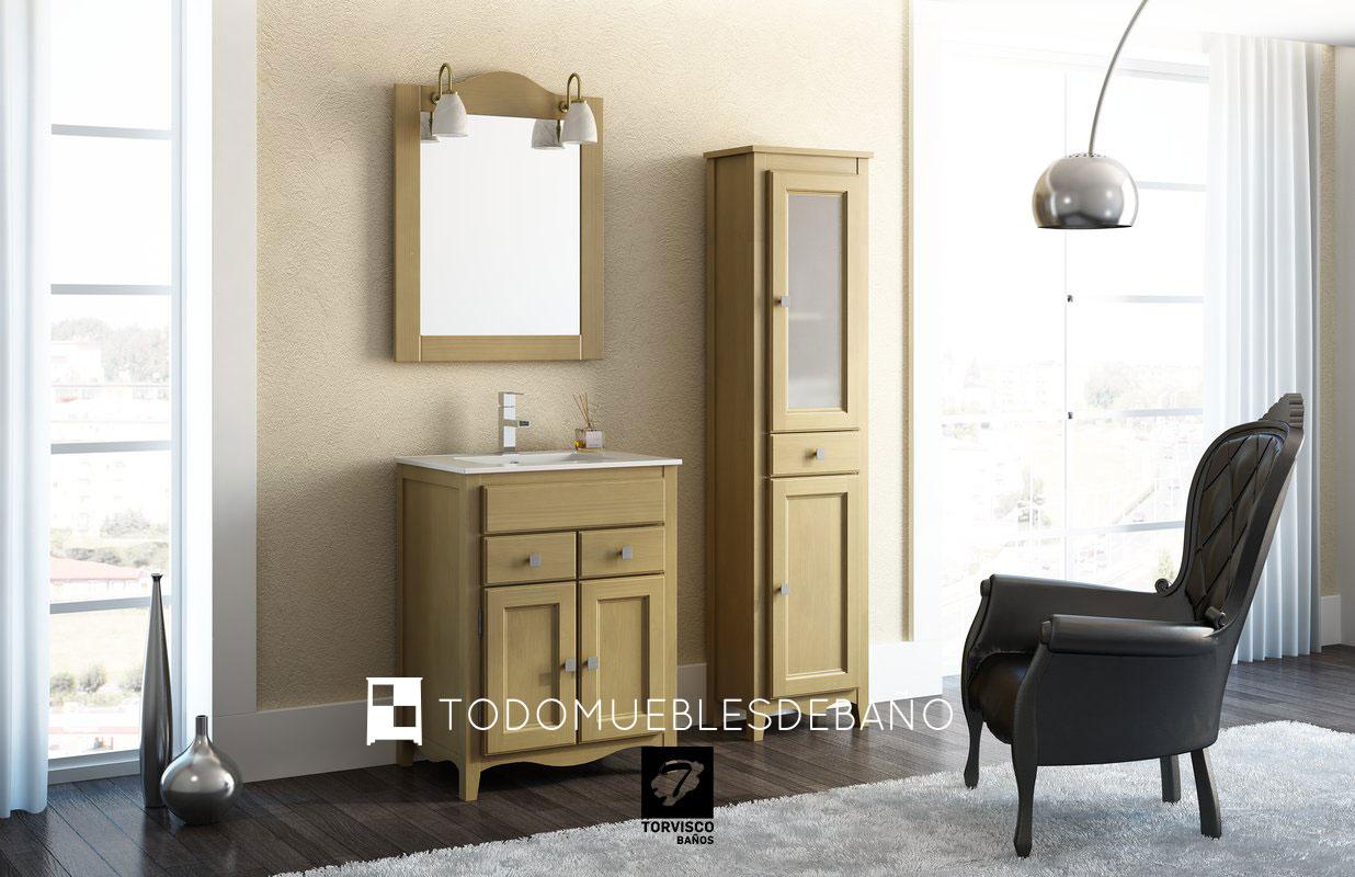 Gu a de decoraci n muebles de ba o r sticos for Decoracion muebles de bano