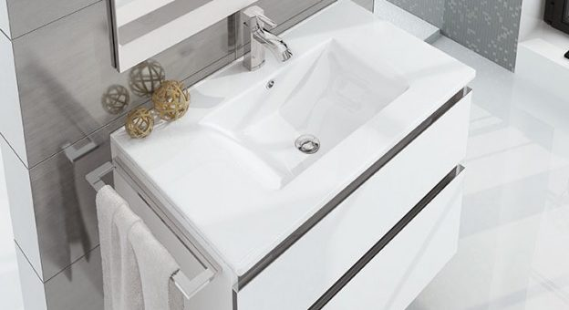 b125ce7c60fc Decoración de baños pequeños modernos