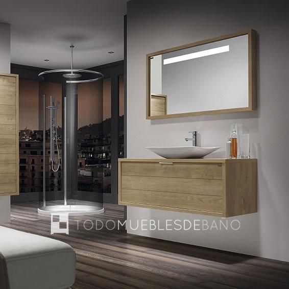 Muebles Baño Para Lavabos Sobre Encimera:Mueble de baño Tino Roble de Valenzuela