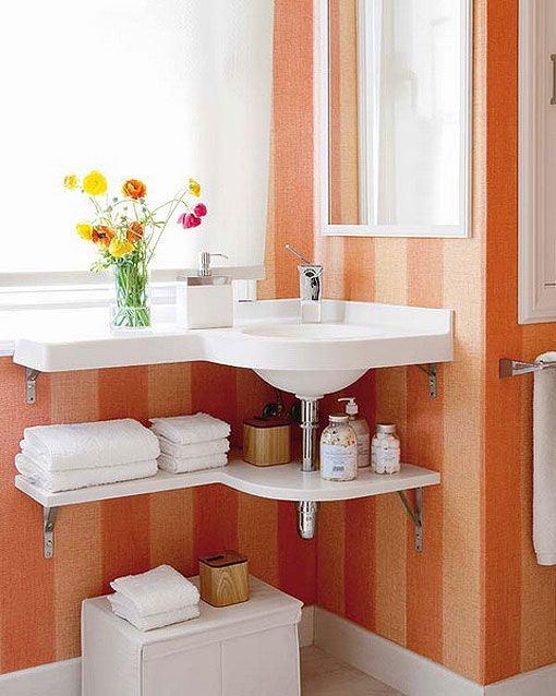 Lavabos Para Baños Reducidos:Ideas de muebles para espacios reducidos – Decoración de baños