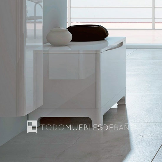 Ideas de muebles para espacios reducidos decoraci n de ba os for Ideas para decorar muebles de bano