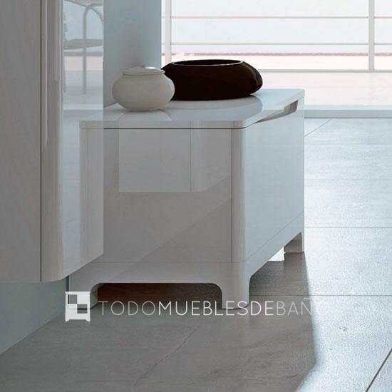 Ideas de muebles para espacios reducidos decoraci n de ba os - Muebles auxiliares bano ...