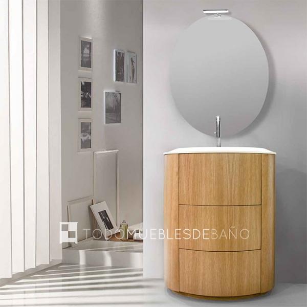 Mueble ba o original - Mueble de bano madera ...