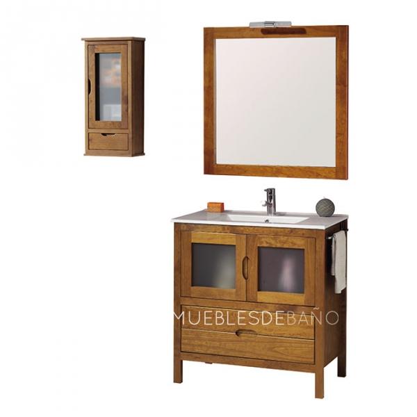 C mo limpiar los muebles de tu ba o decoraci n de ba os - Mueble de bano madera ...