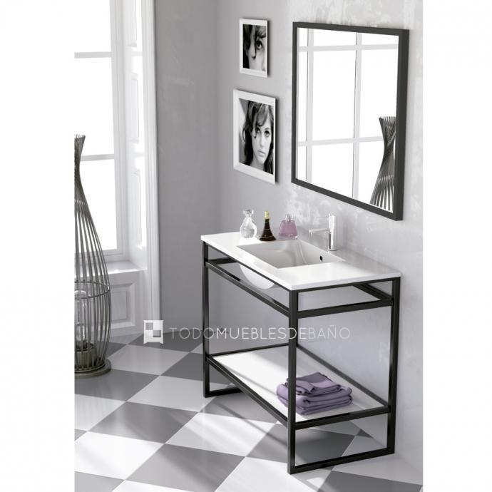 Mueble de ba o suspendido o con patas consejos para for Muebles bano originales