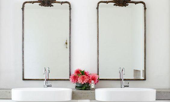 4 espejos de baño para 4 baños diferentes - Todomueblesdebano
