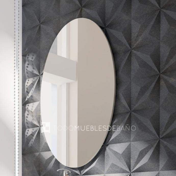 espejo de bao ovalo reversible
