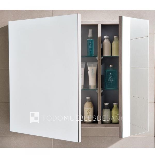 4 espejos de ba o para 4 ba os diferentes todomueblesdebano for Espejos para banos pequenos