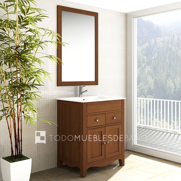 Muebles bao madera maciza beautiful finest muebles de bao - Muebles bano madera maciza ...
