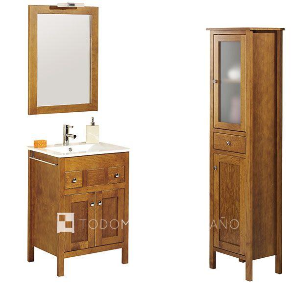 Decoraci n de ba os el blog de decoraci n de ba os de Mueble auxiliar bano madera
