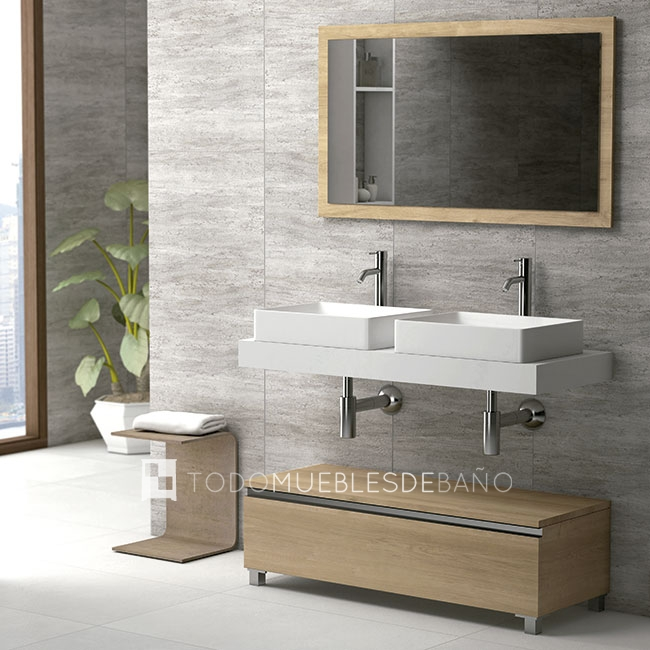 Decoraci n de ba os el blog de decoraci n de ba os de for Mueble de lavabo doble