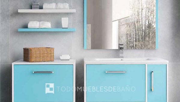 Muebles para un baño infantil   Decoración de baños