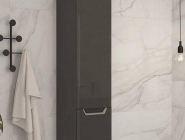 mueble auxiliar de baño en columna