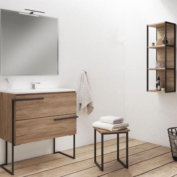 mueble auxiliar para baños pequeños, Mueble auxiliar para baños pequeños: ¿cómo elegir el adecuado?