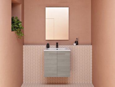 cómo decorar un lavabo pequeño