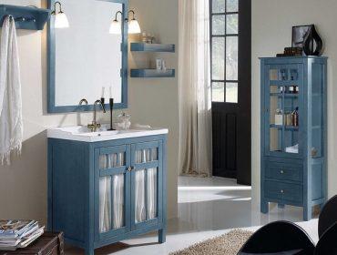 muebles de madera para baños rústicos
