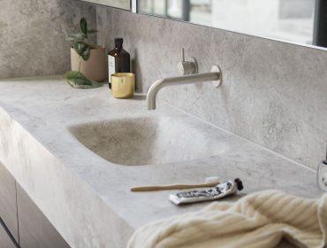 Sifón ahorro espacio muebles baño
