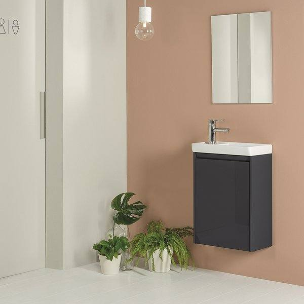 Mueble de baño Enjoy de Royo Group antracita brillo