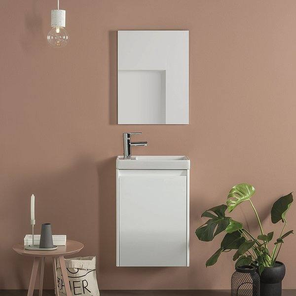 Mueble de baño Enjoy de Royo Group blanco brillo