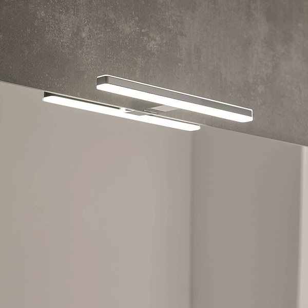 Aplique Lucce led 30 o 50 cm cromo de Royo Group