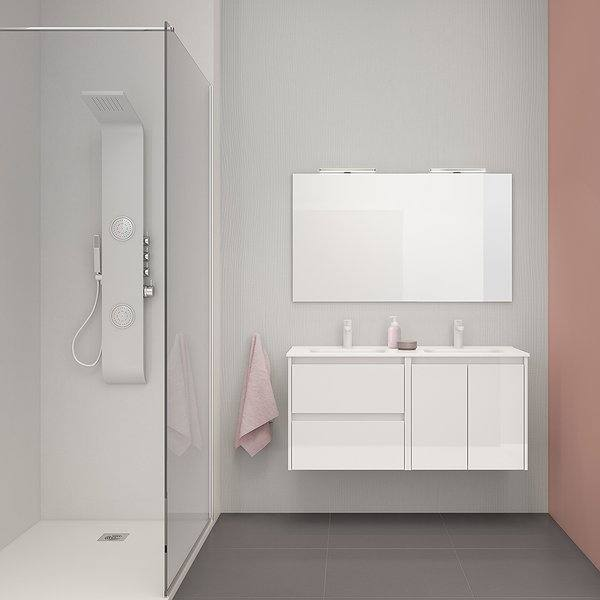 Mueble de baño Look de Royo Group color blanco