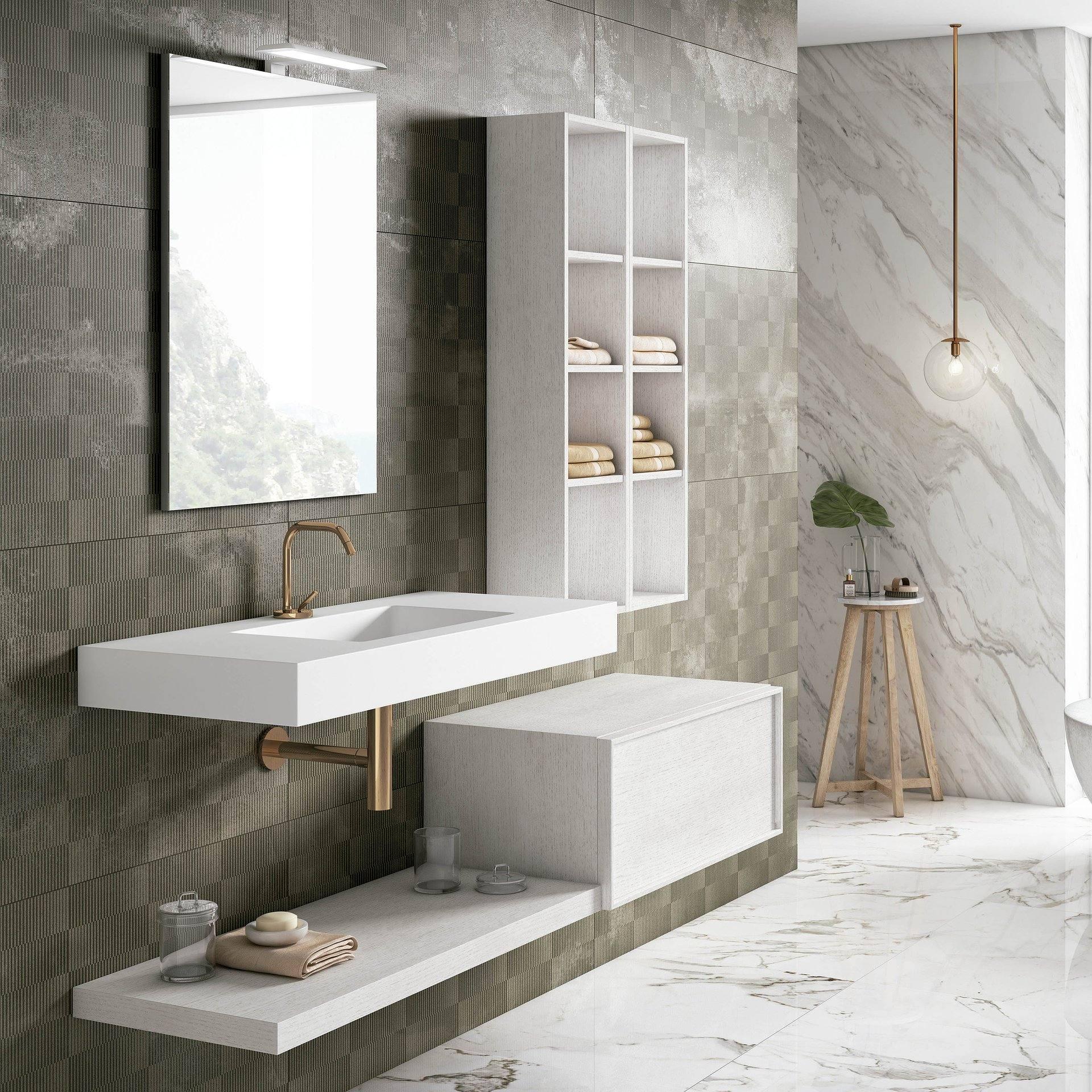 Mueble de baño Viso Bath Altai 2 suspendido 1 cajón ...