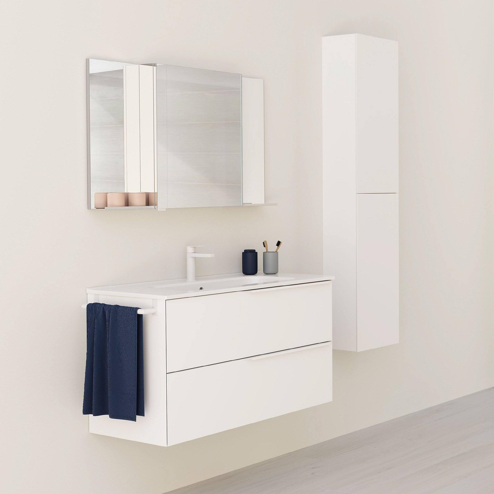 Conjunto mueble de baño Royo Group Mio suspendido 2 ...