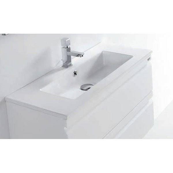 1 x Lavabo de cer/ámica ovalado peque/ño lavabo de cer/ámica lavabo de ba/ño 49 x 35 cm