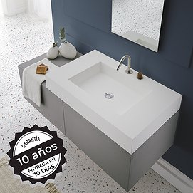 Lavabo sobre encimera Solid Surface Any Bruntec
