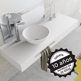 Lavabo sobre encimera Solid Surface Bolonia Decorbath
