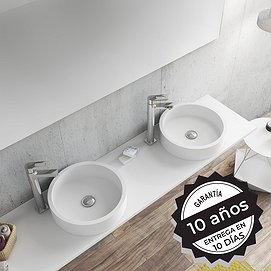 Lavabo sobre encimera Solid Surface Coso Decorbath