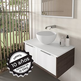 Lavabo sobre encimera Solid Surface Fruit Bruntec