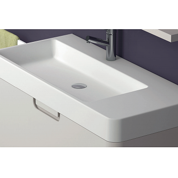 Lavabo encastrado Gel Coat Strip de Coycama