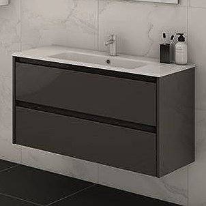 Mueble de baño Sansa de Royo Group color anatracita
