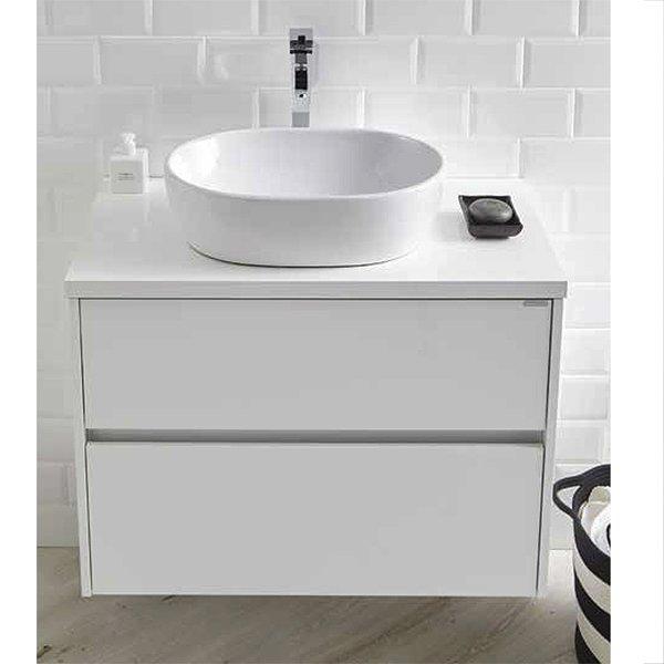 Conjunto mueble de ba o de sanchis lavabo sobre encimera for Muebles de bano con lavabo sobre encimera