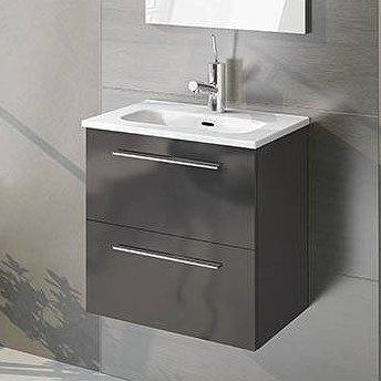 Mueble de baño Elegance de Royo Group antracita brillo