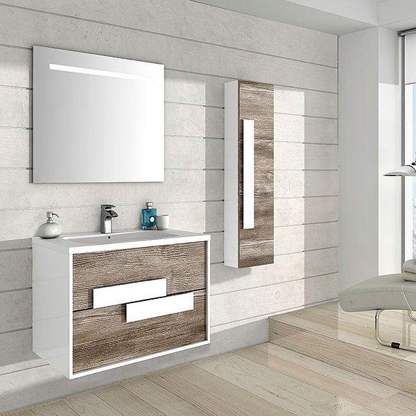 Conjunto Mueble de baño Sergio Luppi Londres 1 (MUEBLE ...