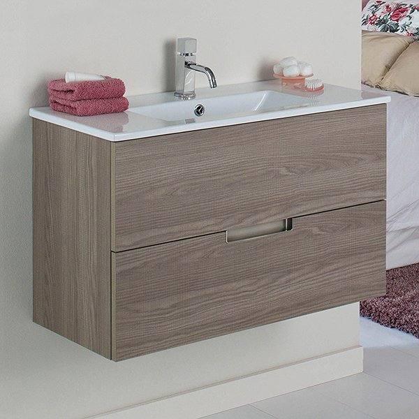 68d6b1ac43b8 Conjunto mueble de baño de Madero 2 cajones Evora (varias medidas ...