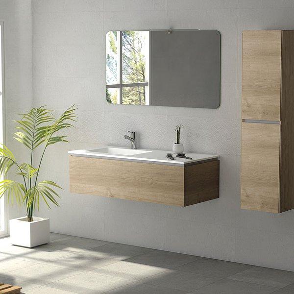 ea6df54ed96d Mueble de baño de Coycama Sigma 1 suspendido 1 cajón ...