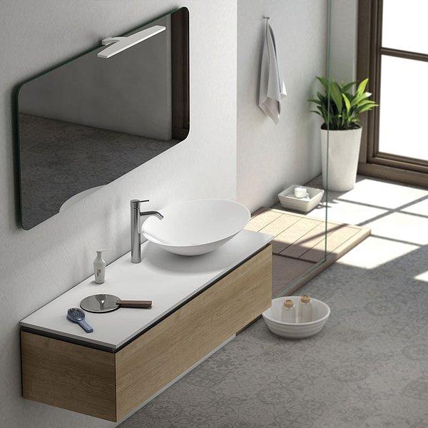 ba623f9cf141 Mueble de baño de Coycama Sigma 1 suspendido 1 cajón